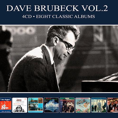 DAVE BRUBECK VOL.2 • 4CD • EIGHT CLASSIC ALBUMS