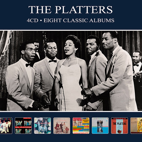 THE PLATTERS • 4CD • EIGHT CLASSIC ALBUMS