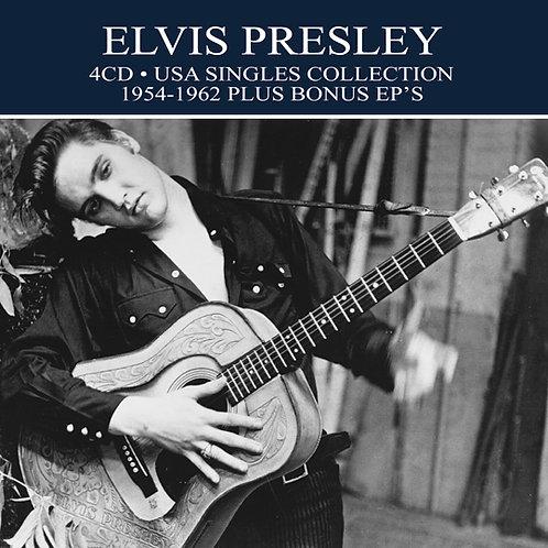 ELVIS PRESLEY • 4CD • USA SINGLES COLLECTION