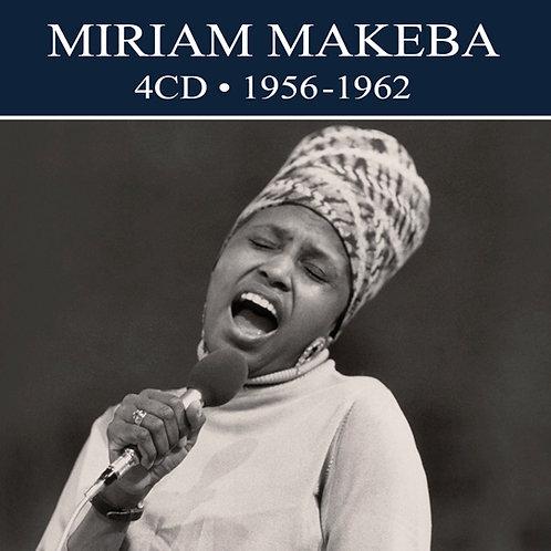 MIRIAM MAKEBA • 4CD • 1956-1962