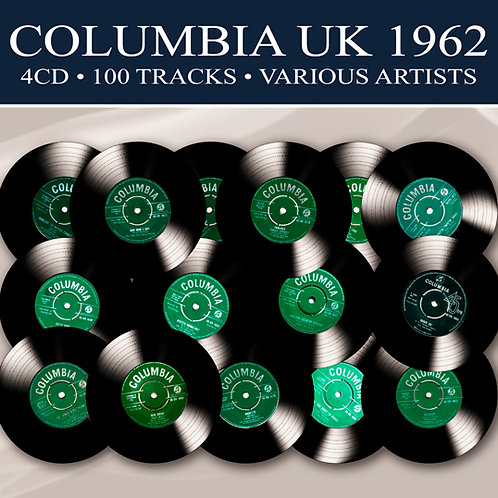 COLUMBIA UK 1962 • 4CD 100 TRACKS • VARIOUS ARTISTS