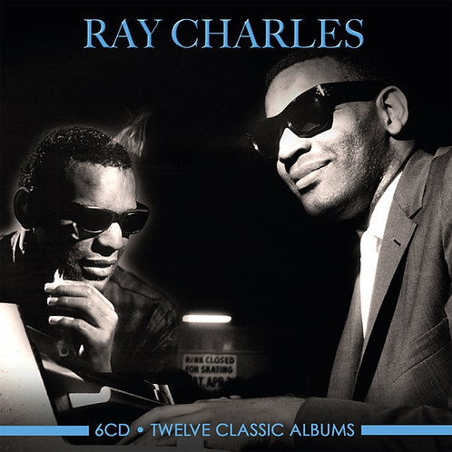 RAY CHARLES • 6CD • TWELVE CLASSIC ALBUMS