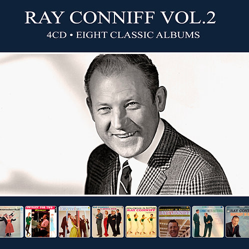 RAY CONNIFF VOL.2 • 4CD • EIGHT CLASSIC ALBUMS