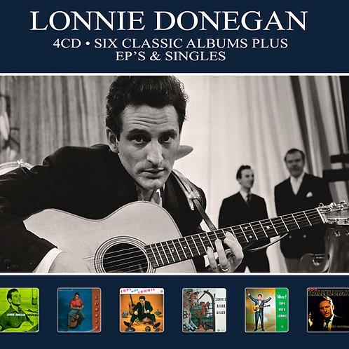 LONNIE DONEGAN • 4CD •  SIX CLASSIC ALBUMS PLUS EP'S & SINGLES