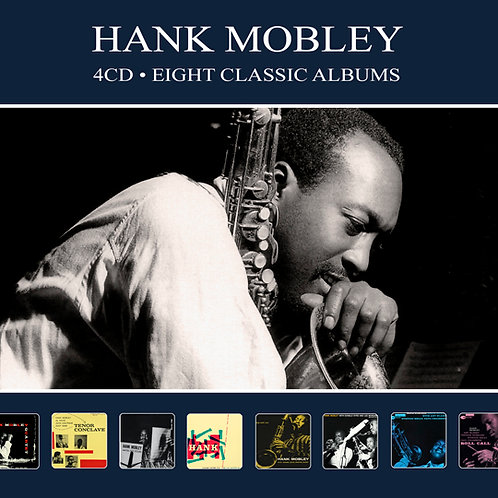 HANK MOBLEY • 4CD • EIGHT CLASSIC ALBUMS