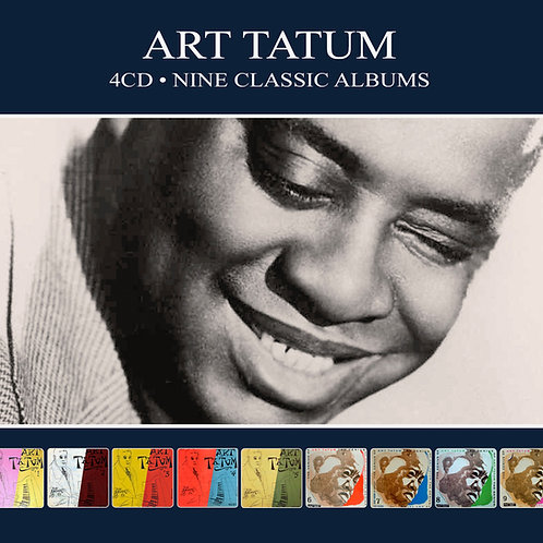 ART TATUM • 4CD • NINE CLASSIC ALBUMS