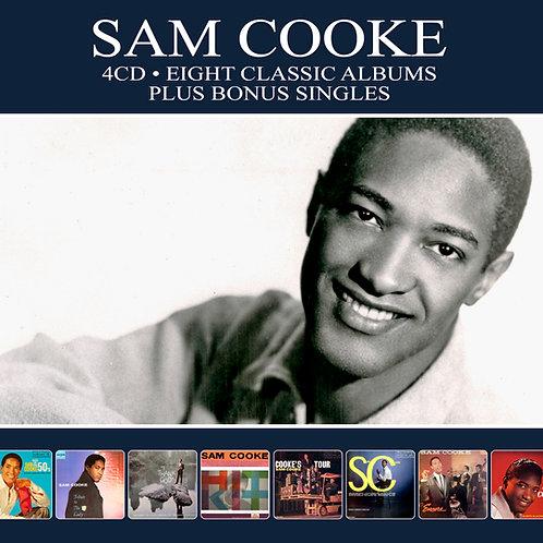 SAM COOKE • 4CD • EIGHT CLASSIC ALBUMS PLUS BONUS SINGLES