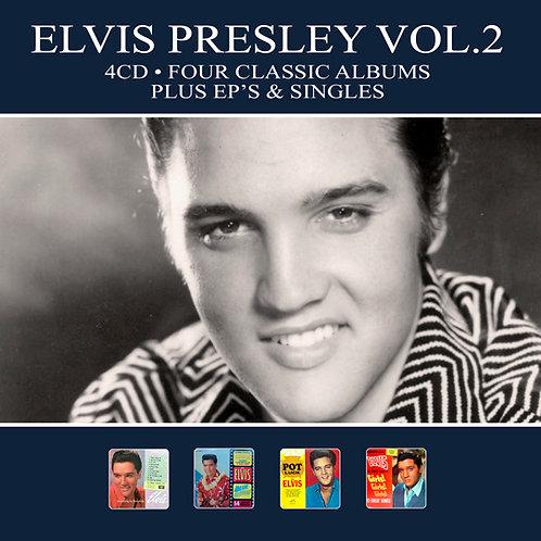 ELVIS PRESLEY VOL.2 • 4CD • FOUR CLASSIC ALBUMS PLUS ...