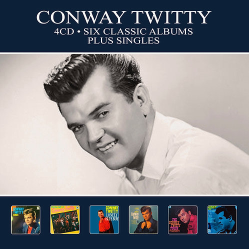 CONWAY TWITTY • 4CD • SIX CLASSIC ALBUMS PLUS SINGLES