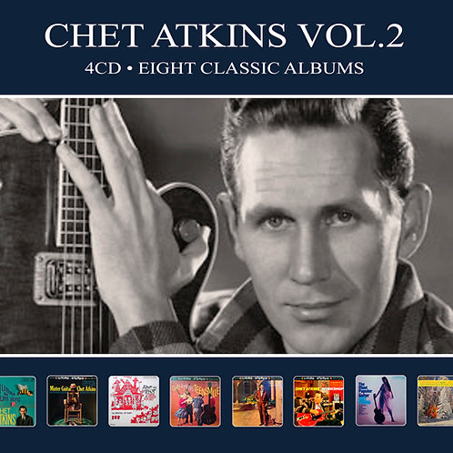 CHET ATKINS VOL.2 • 4CD • EIGHT CLASSIC ALBUMS