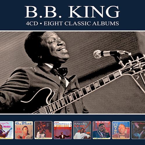 B.B. KING • 4CD • EIGHT CLASSIC ALBUMS