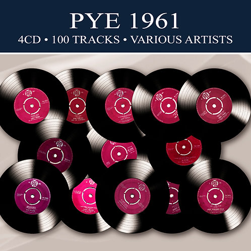 PYE 1961 • 4CD • 100 TRACKS VARIOUS ARTISTS