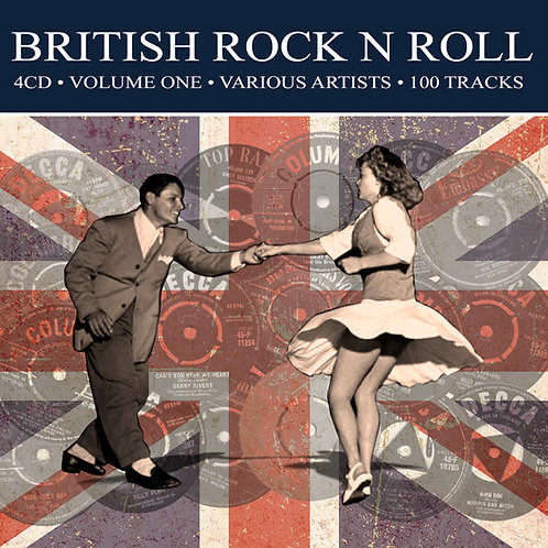 BRITISH ROCK 'N' ROLL • 4CD • VOLUME ONE - VARIOUS ARTISTS