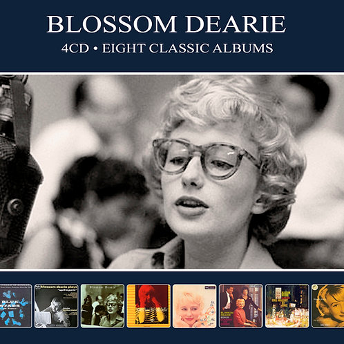 BLOSSOM DEARIE • 4CD • EIGHT CLASSIC ALBUMS