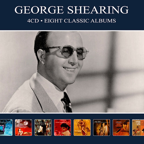 GEORGE SHEARING • 4CD • EIGHT CLASSIC ALBUMS