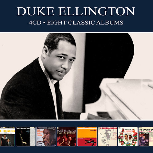 DUKE ELLINGTON • 4CD • EIGHT CLASSIC ALBUMS