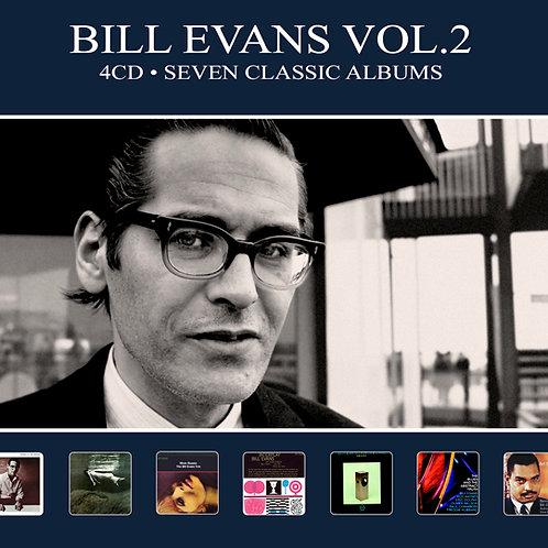 BILL EVANS VOL.2 • 4CD • SEVEN CLASSIC ALBUMS