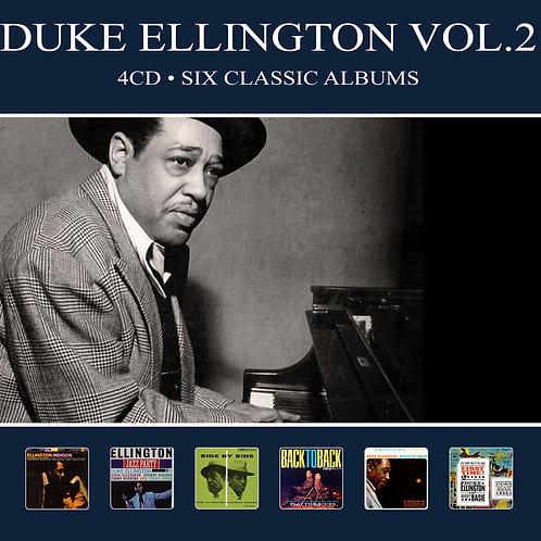 DUKE ELLINGTON VOL.2 • 4CD • SIX CLASSIC ALBUMS
