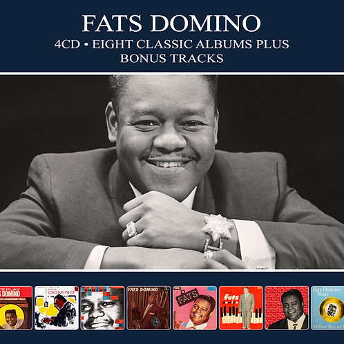 FATS DOMINO • 4CD • EIGHT CLASSIC ALBUMS PLUS BONUS TRACKS