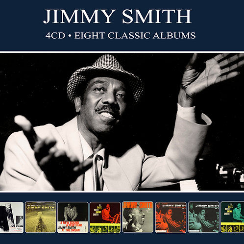 JIMMY SMITH • 4CD • EIGHT CLASSIC ALBUMS