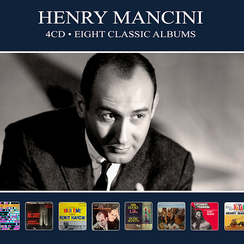 HENRY MANCINI • 4CD • EIGHT CLASSIC ALBUMS