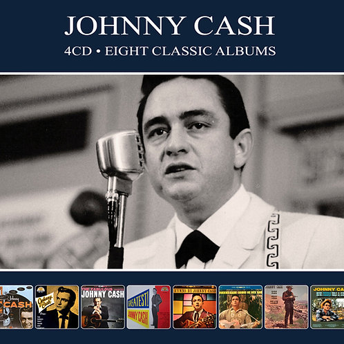 JOHNNY CASH • 4CD • EIGHT CLASSIC ALBUMS