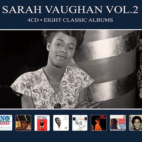 SARAH VAUGHAN VOL.2 • 4CD • EIGHT CLASIC ALBUMS