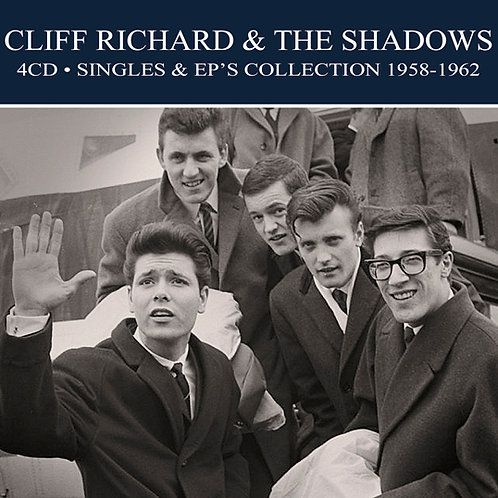 CLIFF RICHARD & THE SHADOWS • 4CD • SINGLES & EP'S COLLECTION 1958-1962