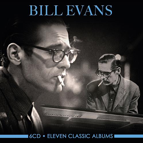 BILL EVANS • 6CD • ELEVEN CLASSIC ALBUMS