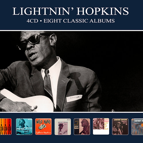 LIGHTNIN' HOPKINS • 4CD • EIGHT CLASSIC ALBUMS