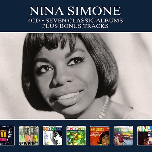 NINA SIMONE • 4CD • SEVEN CLASSIC ALBUMS PLUS BONUS TRACKS