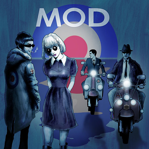 MOD • THE EARLY YEARS • 2LP COLOURED VINYL
