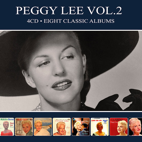 PEGGY LEE VOL.2 • 4CD • EIGHT CLASSIC ALBUMS