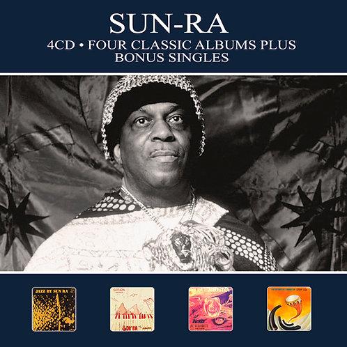 SUN-RA • 4CD • FOUR CLASSIC ALBUMS PLUS BONUS SINGLES