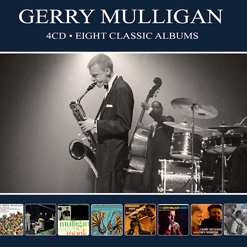 GERRY MULLIGAN • 4CD • EIGHT CLASSIC ALBUMS