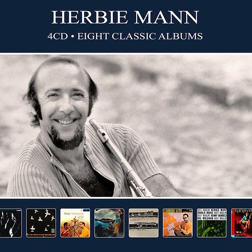 HERBIE MANN • 4CD • EIGHT CLASIC ALBUMS