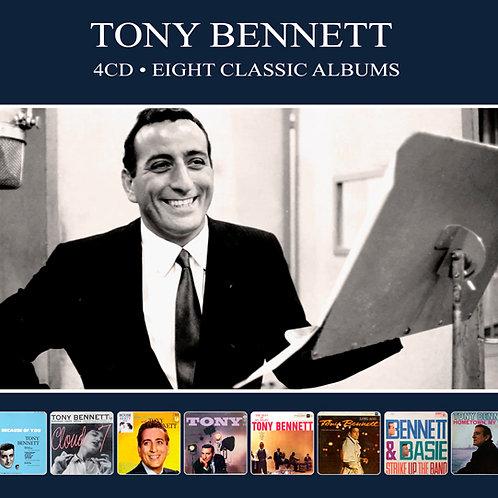 TONY BENNETT • 4CD • EIGHT CLASSIC ALBUMS