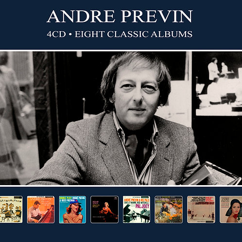 ANDRE PREVIN • 4CD • EIGHT CLASSIC ALBUMS