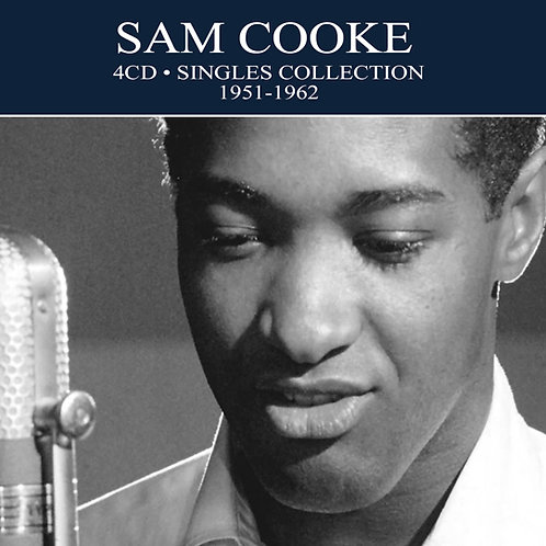 SAM COOKE • 4CD • SINGLES COLLECTION 1951 - 1962