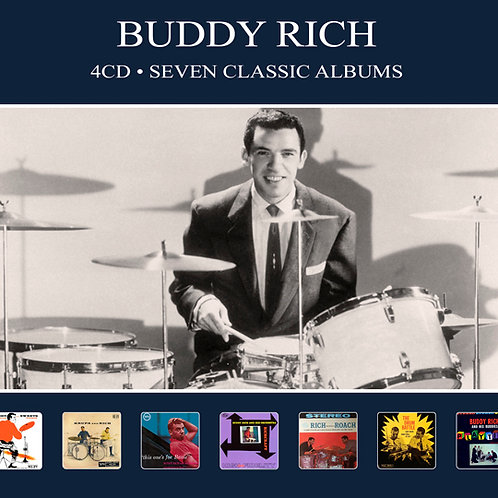 BUDDY RICH • 4CD • SEVEN CLASSIC ALBUMS