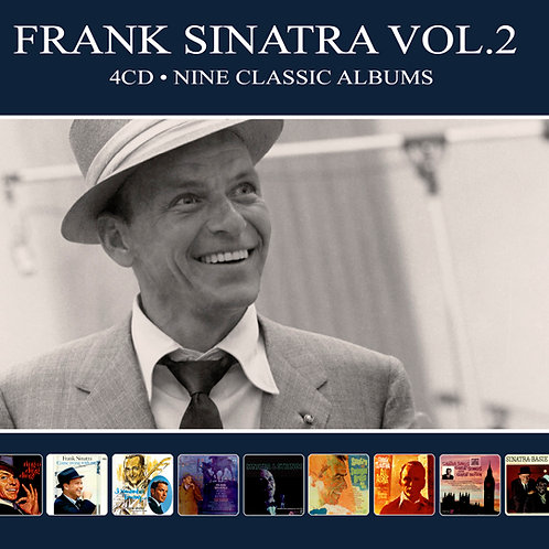 FRANK SINATRA VOL.2 • 4CD • NINE CLASSIC ALBUMS