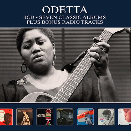 ODETTA • 4CD • SEVEN CLASSIC ALBUMS PLUS BONUS RADIO TRACKS