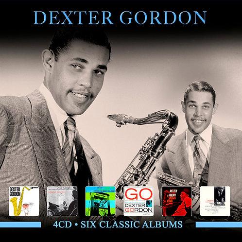 DEXTER GORDON • 4CD • SIX CLASSIC ALBUMS