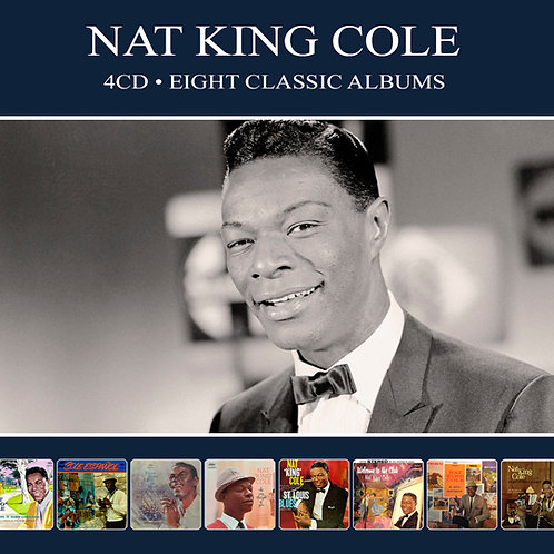 NAT KING COLE • 4CD • EIGHT CLASSIC ALBUMS
