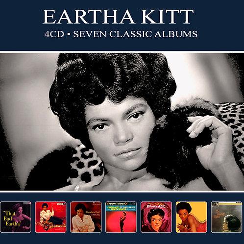 EARTHA KITT • 4CD • SEVEN CLASSIC ALBUMS