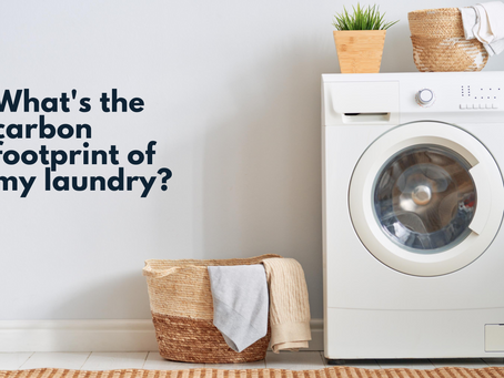 What's the Carbon Footprint of my Laundry?