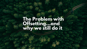 The problem with offsetting. And why we still do it...