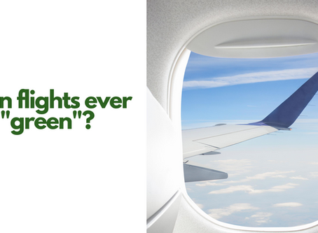 Can flights ever be 'green'?