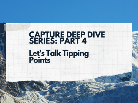 The Deep-Dive Series, part 4: Tipping Points