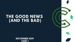 The Good News & Bad News: 14th Nov